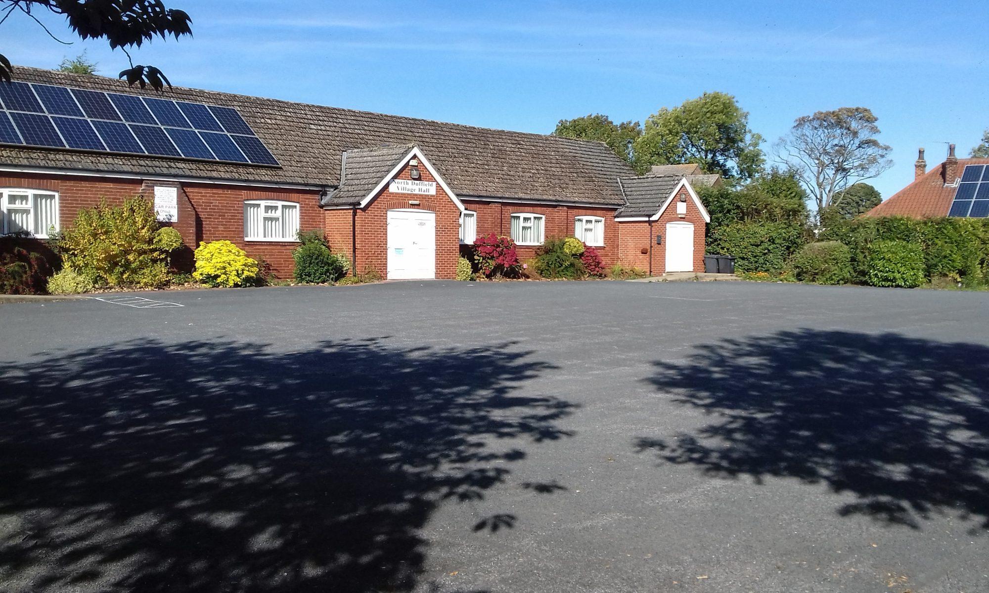 North Duffield Village Hall